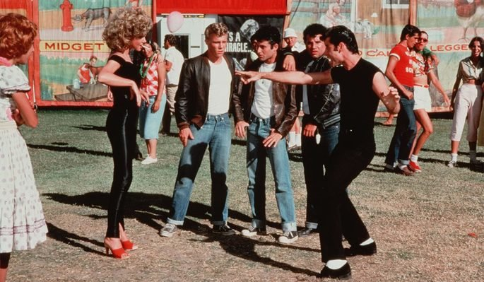 Fotograma de la película Grease