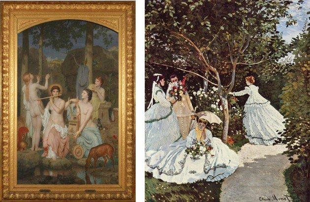 Greyre y Monet
