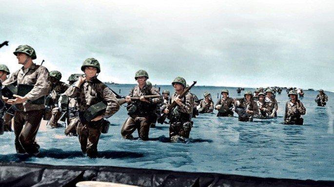 Fotograma del documental La II Guerra Mundial en color