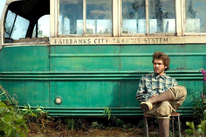 Fotograma de la película Hacia rutas salvajes