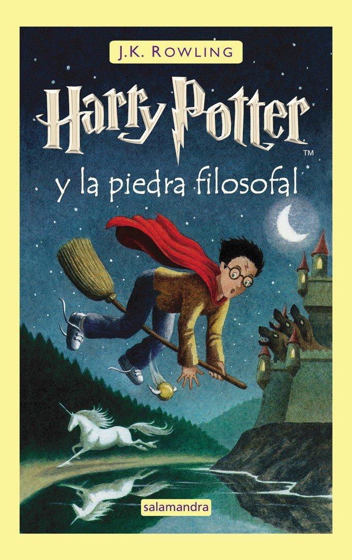 Portada del libro Harry Potter