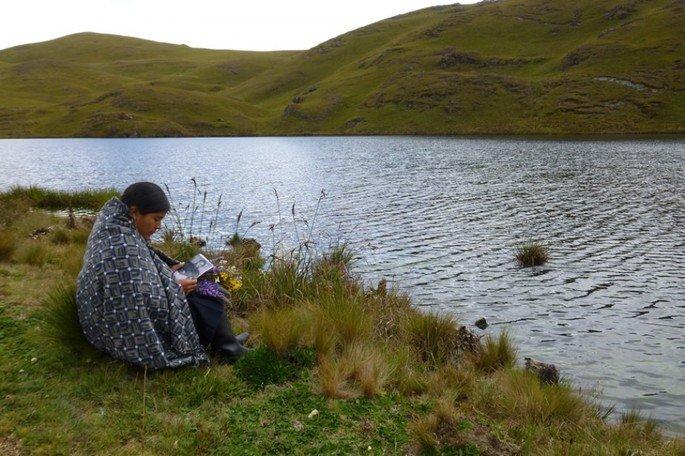 Fotograma del documental Hija de la laguna