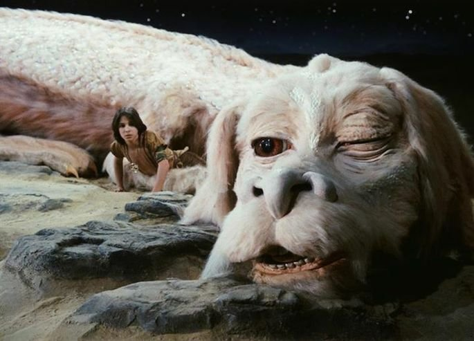 Fotograma de la película La historia sin fin