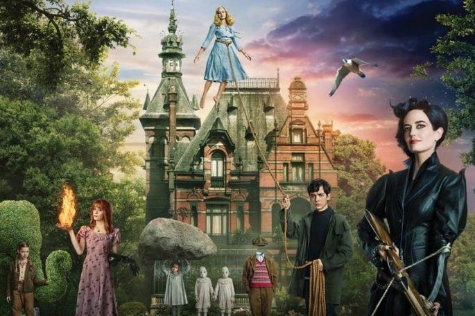 Fotograma de la película El hogar de Miss Peregrine y los niños peculiares