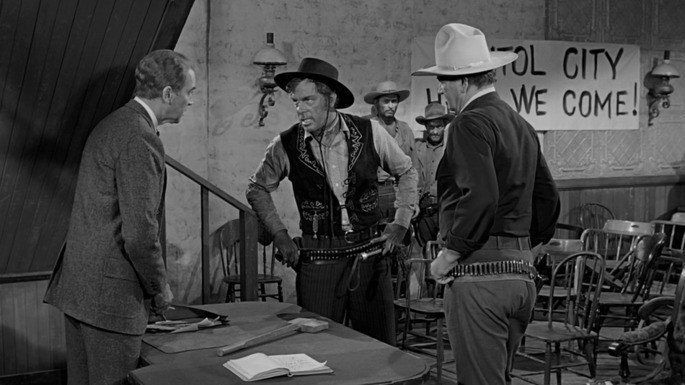 Fotograma de la película El hombre que mató a Liberty Valance