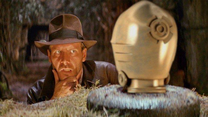 Fotograma de la película Indiana Jones: en busca del arca perdida