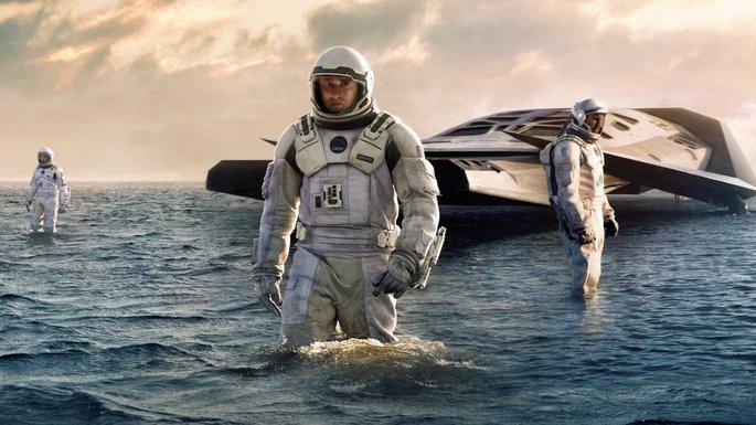 Fotograma de la película Interstellar