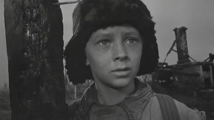 Fotograma de la película La infancia de Iván