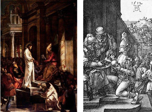 Tintoretto y Durero