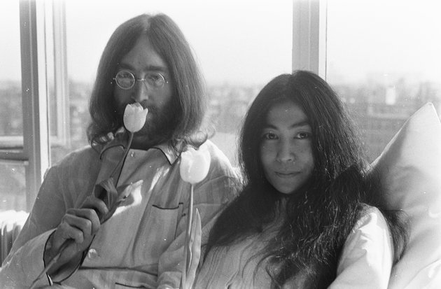 Lennon y Yoko