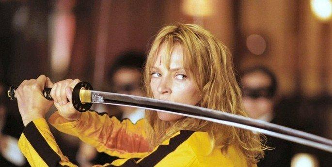 Fotograma de la película Kill Bill.