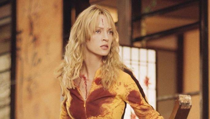 Fotograma de la película Kill Bill Volumen 1, en en que aparece Uma Thurman