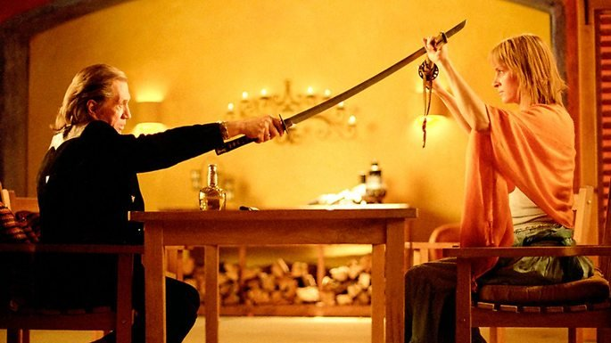 Escena de la película Kill Bill volumen 2