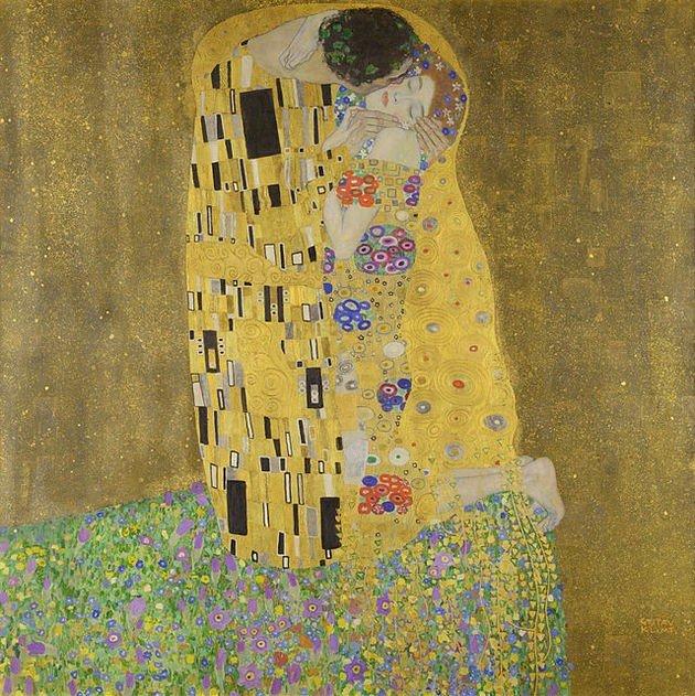 Significado Del Cuadro El Beso De Gustav Klimt Cultura Genial