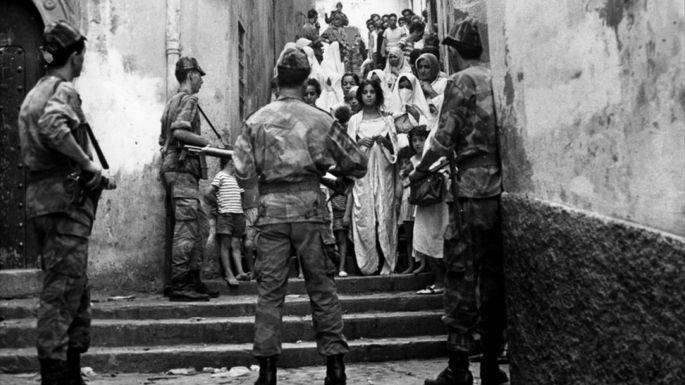 Fotograma de la película La batalla del Argel