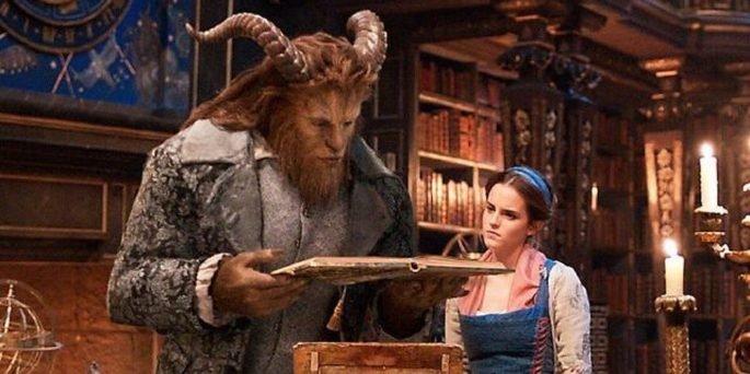Fotograma de la película La bella y la bestia