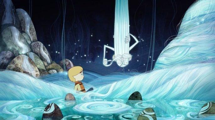 Fotograma de la película La canción del mar