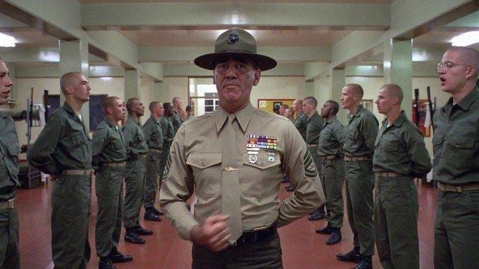 Fotograma de la película La chaqueta metálica