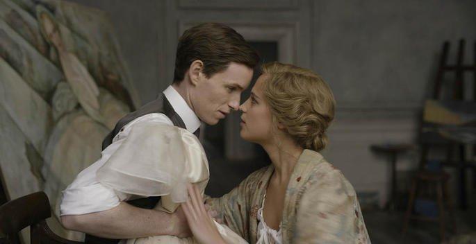 Fotograma de la película La chica danesa