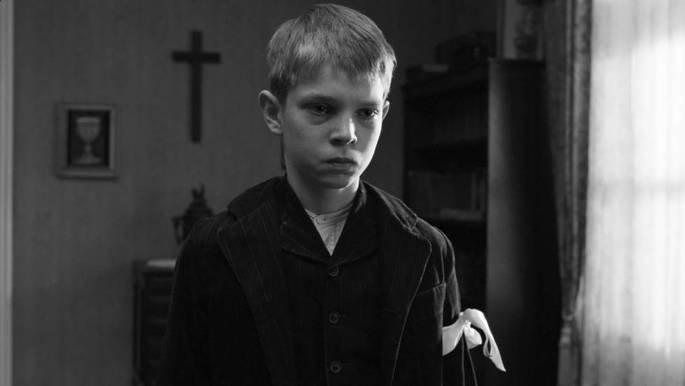 Fotograma de la película La cinta blanca