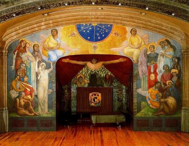 Diego Rivera: La creación. 1922.