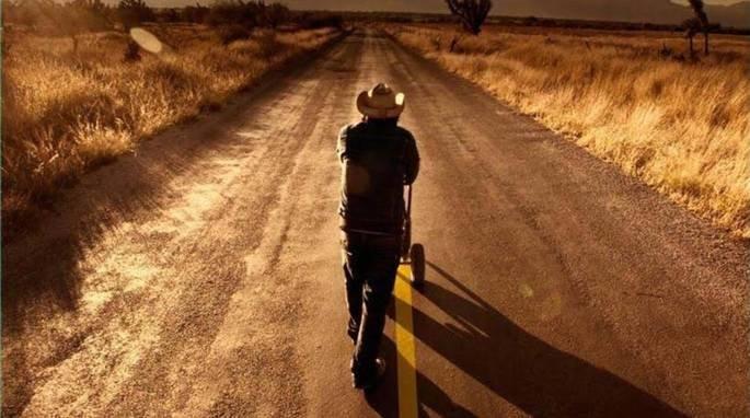 Fotograma de la película La delgada línea amarilla