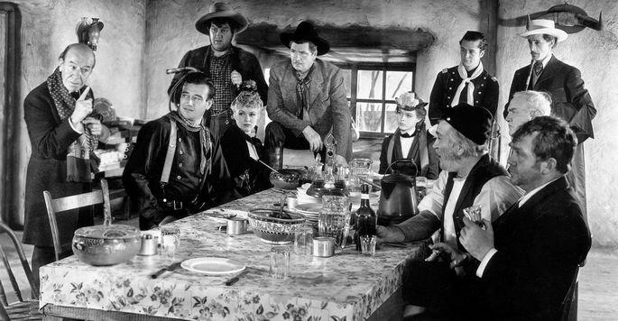 Fotograma de la película La diligencia.
