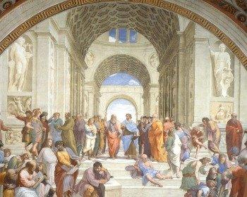 La Escuela de Atenas de Rafael Sanzio