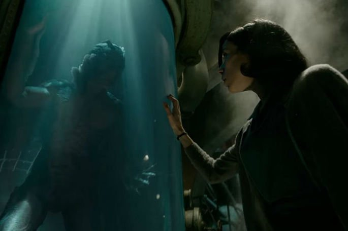 Fotograma de la película La forma del agua