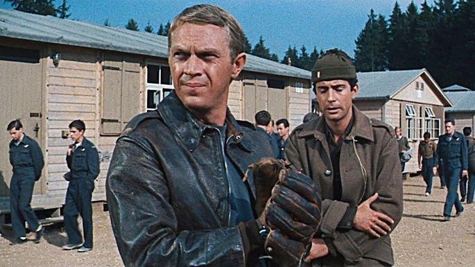 Fotograma de la película la gran evasión