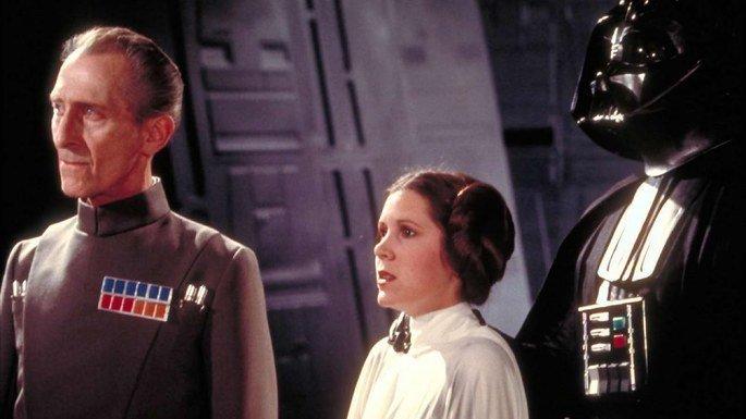 Fotograma de la película La guerra de las galaxias