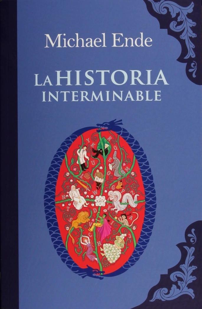 Portada del libro La historia interminable
