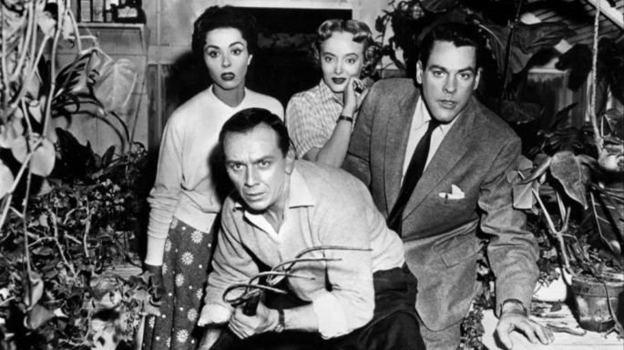 Fotograma de la película La invasión de los ladrones de cuerpos