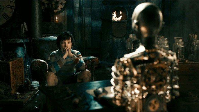 Fotograma de la película Hugo