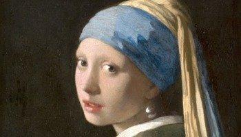 La joven de la perla de Johannes Vermeer