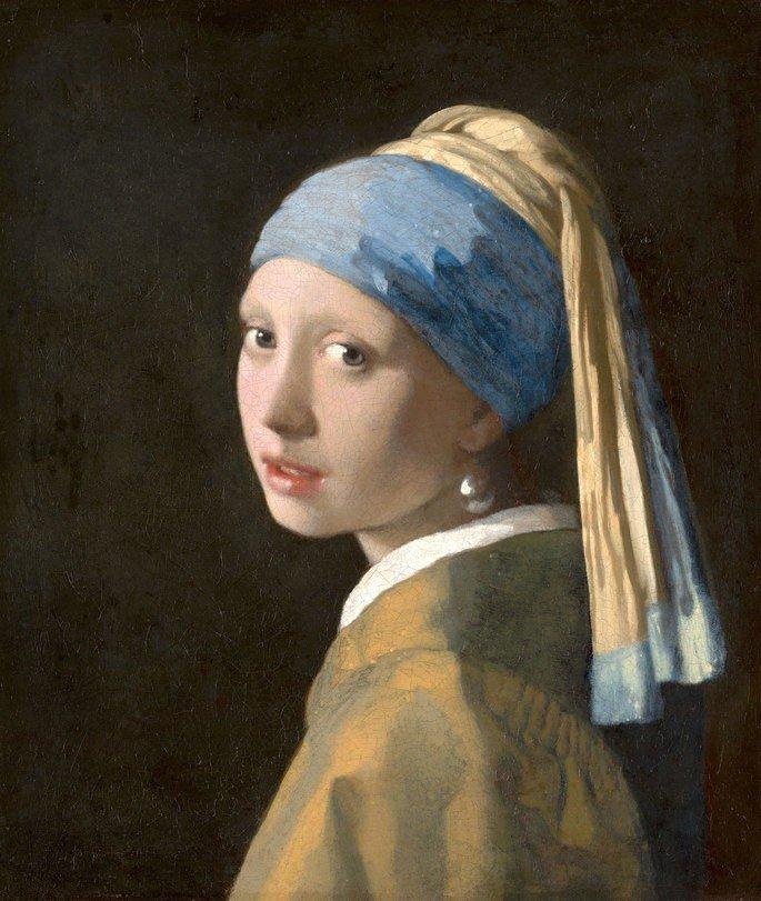 La joven de la perla de Vermeer