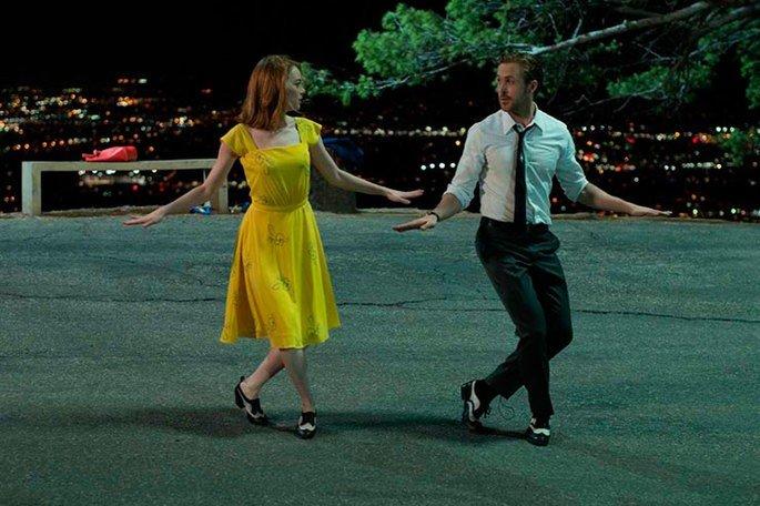 Fotograma de la película La la land