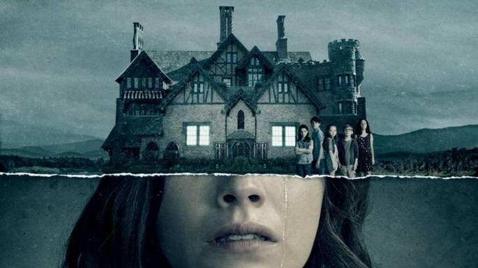 Fotograma de la serie La maldición de Hill House