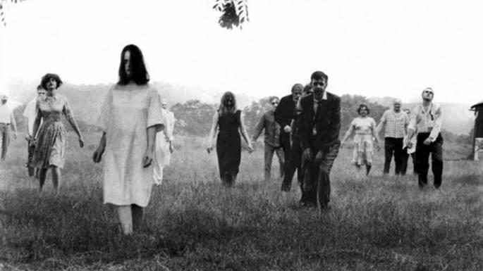 Fotograma de la película La noche de los muertos vivientes