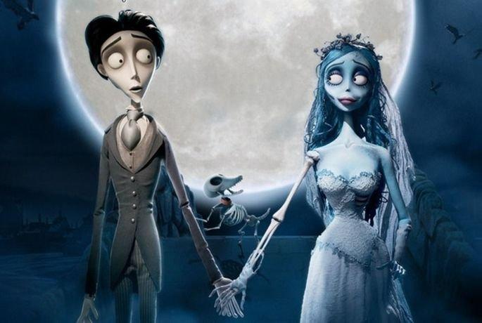 Fotograma de la película La novia cadáver