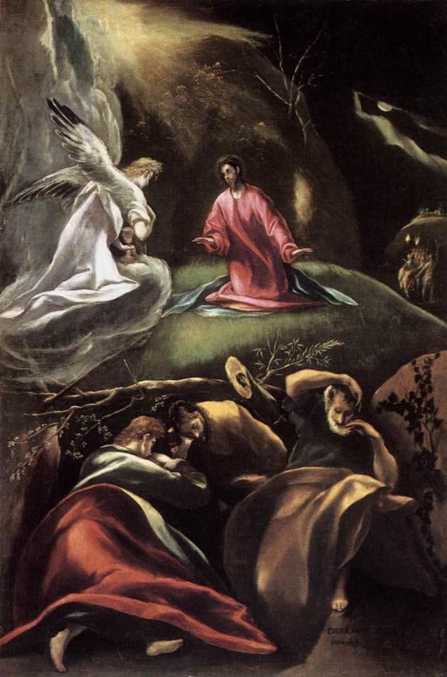 Greco La oración en el huerto de los olivos