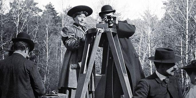 Fotograma del documental la pionera