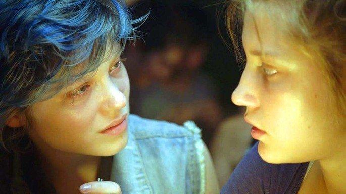 Fotograma de la película La vida de Adèle