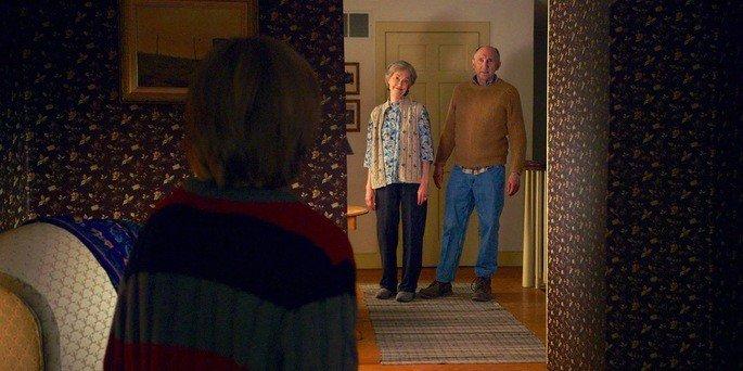 Fotograma de la película La visita