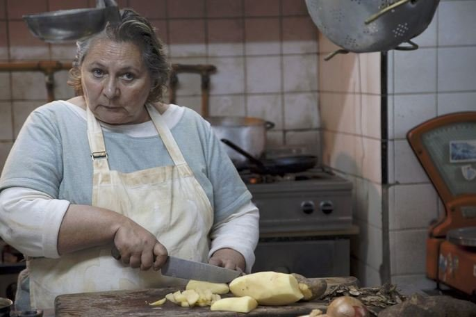 Personaje de La cocinera en Relatos Salvajes.
