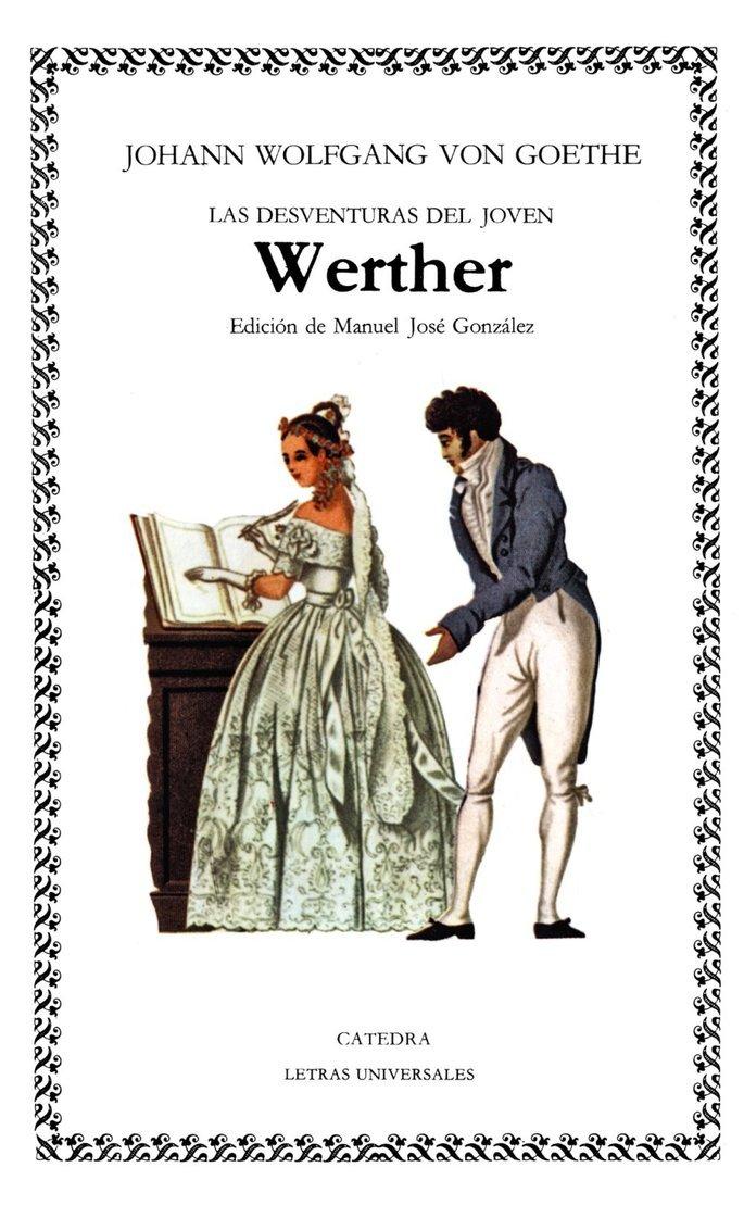 Portada del libro Las desventuras del joven Werther