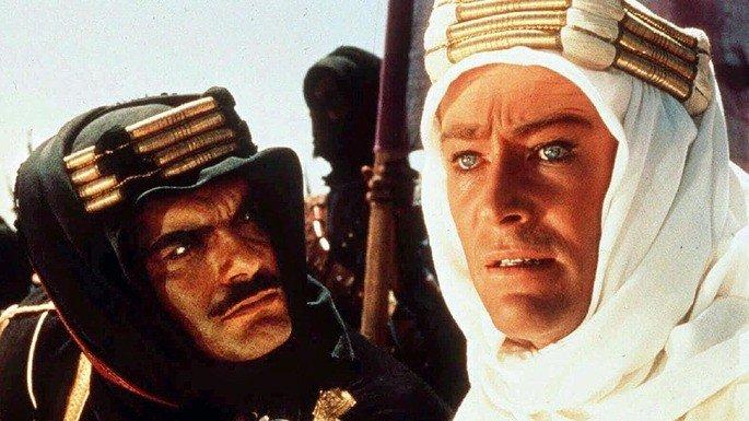 Fotograma de la película Lawrence de Arabia