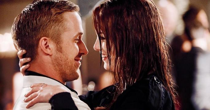 Fotograma de la película Loco y estúpido amor
