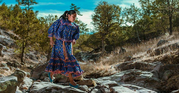 Fotograma del documental Lorena, la de pies ligeros
