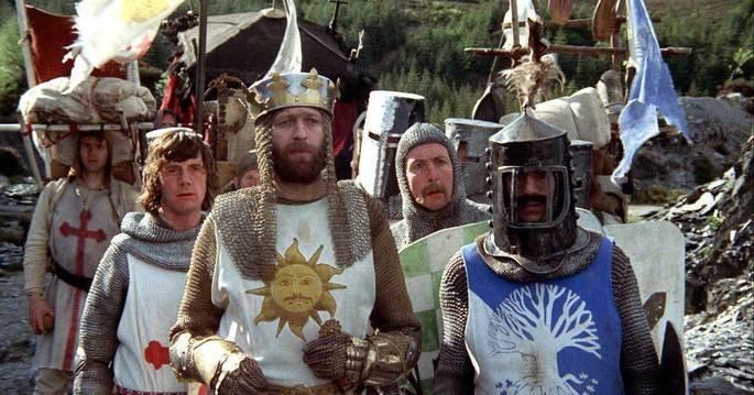 Fotograma de la película Los caballeros de la mesa cuadrada